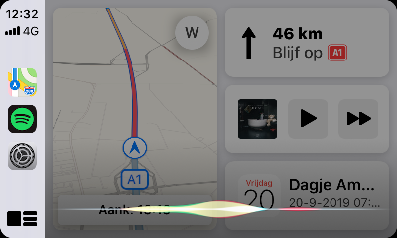 siri en apple carplay 2019