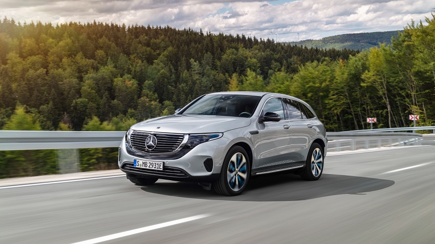 Mercedes EQC luxe suv
