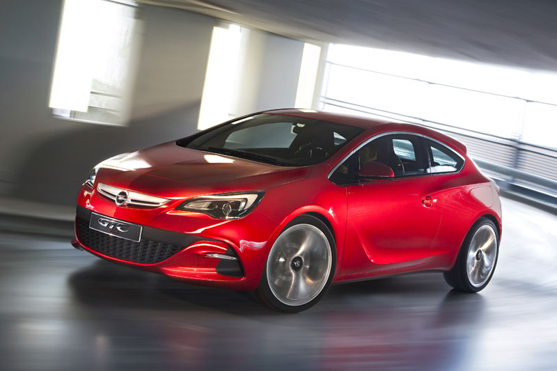 Opel Astra Red
