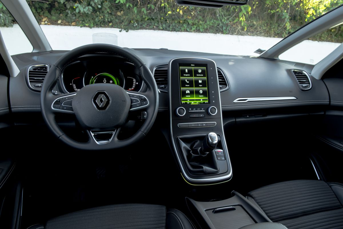 Renault Scenic Dashboard